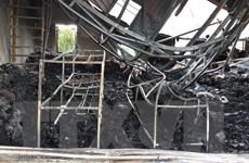 Nghệ An: Cháy kho chứa hàng hóa, thiệt hại nhiều tỷ đồng