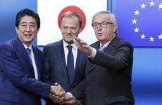 Nội các Nhật thông qua dự luật phê chuẩn thỏa thuận thương mại với EU
