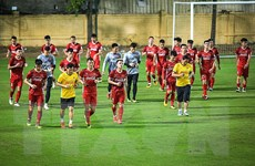 Người hâm mộ đồng lòng cổ vũ đội tuyển Việt Nam tại AFF Suzuki Cup