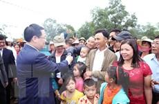 Phó Thủ tướng Vương Đình Huệ dự Ngày hội Đại đoàn kết ở Nghệ An