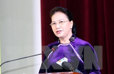 Chủ tịch Quốc hội dự lễ kỷ niệm Ngày Nhà giáo tại Học viện Tài chính