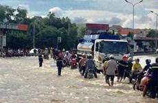Huyện Bắc Bình của tỉnh Bình Thuận vẫn ngập nặng do mưa lũ