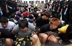 Cảnh sát Campuchia bắt giữ hơn 200 công dân Trung Quốc