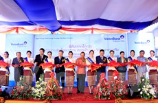 VietinBank Lào tổ chức lễ khai trương Chi nhánh Vientiane