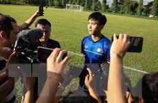 Văn Hậu tiết lộ 'bài vở' của thầy Park Hang-seo đối phó Philippines