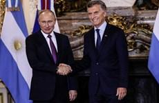 Argentina thảo luận với Nga và Đức sau Hội nghị thượng đỉnh G20