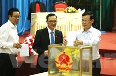 Hà Giang lấy phiếu tín nhiệm 26 chức danh do HĐND tỉnh bầu