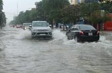 Mưa lớn kéo dài nhiều ngày, thành phố Vinh của Nghệ An ngập sâu