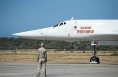 Nga triển khai 2 máy bay ném bom tới Venezuela tham gia tập trận