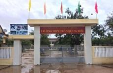 Sở Giáo dục-Đào tạo Bình Định thông tin về vụ học sinh đánh thầy giáo