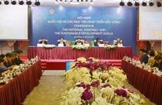 Việt Nam đẩy mạnh thực hiện các mục tiêu phát triển bền vững