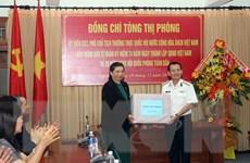 Phó Chủ tịch Thường trực Quốc hội thăm Bộ Tư lệnh Vùng 3 Hải quân