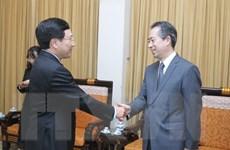 Phó Thủ tướng Phạm Bình Minh tiếp Đại sứ Trung Quốc tại Việt Nam