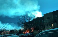 Ánh sáng kỳ lạ xuất hiện sau một vụ nổ nhà máy điện ở Mỹ