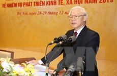 Bài phát biểu của Tổng Bí thư ở hội nghị Chính phủ với các địa phương