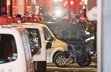 Nhật Bản: Đâm xe vào người đi đón Năm mới làm nhiều người bị thương