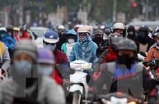 Hình ảnh người dân lại ùn ùn đổ về Thủ đô sau kỳ nghỉ lễ