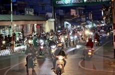 Không có ùn tắc giao thông tại các cửa ngõ ở Thành phố Hồ Chí Minh