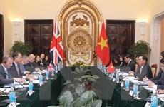 Tham vấn Chính trị cấp Thứ trưởng Ngoại giao Việt Nam-Anh
