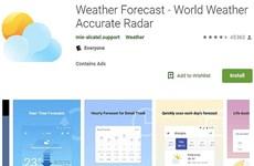 Ứng dụng thời tiết phổ biến nhất bị tố thu thập dữ liệu trái phép