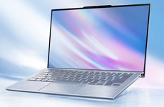 Asus tuyên bố ra mẫu laptop có màn hình mỏng nhất thế giới