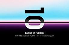 Samsung chính thức công bố ngày ra mắt mẫu điện thoại Galaxy S10