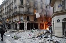 Xảy ra nổ cực lớn ở trung tâm Paris, giao thông hỗn loạn