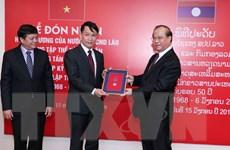 TTXVN vinh dự đón nhận các huân chương cao quý của Nhà nước Lào