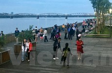 Huế khánh thành, đưa vào sử dụng cầu đi bộ trên sông Hương