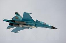 Hai máy bay tiêm kích ném bom Su-34 của Nga đâm vào nhau