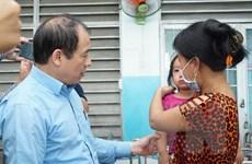 TP.HCM tiêm vét vắcxin sởi cho trẻ ở cả trường học lẫn bệnh viện