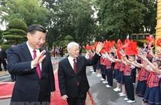Lãnh đạo Việt Nam-Trung Quốc gửi thư chúc mừng năm mới Kỷ Hợi
