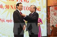 Trao Huy hiệu Đảng tặng các đảng viên thuộc Đảng bộ Văn phòng TW Đảng