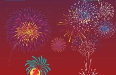 [Infographics] Những điểm bắn pháo hoa đón Xuân Kỷ Hợi 2019
