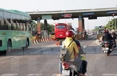 Trạm thu phí cầu Rạch Miễu xả trạm giải quyết ùn tắc giao thông