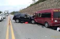 Hai vụ tai nạn giao thông liên tiếp trên cao tốc Nội Bài-Lào Cai