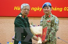 Thêm một sỹ quan Việt Nam đi làm nhiệm vụ gìn giữ hòa bình ở Nam Sudan
