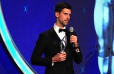 Giải 'Oscar thể thao' 2019 vinh danh tay vợt Novak Djokovic