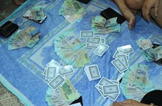 Thanh Hóa triệt xóa hai ổ đánh bạc, bắt giữ 24 đối tượng