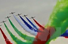 Hình ảnh bay biểu diễn ấn tượng tại Triển lãm quốc phòng quốc tế
