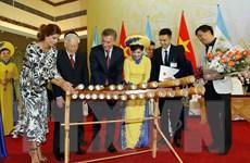 Hình ảnh Tổng Bí thư, Chủ tịch nước chiêu đãi Tổng thống Argentina