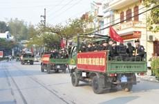 Công an Điện Biên tăng cường lực lượng đảm bảo an ninh ở cơ sở