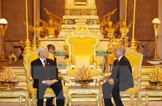 Thúc đẩy quan hệ Việt Nam-Campuchia đi vào chiều sâu, bền vững