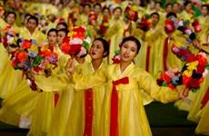 Những hình ảnh ấn tượng về màn đồng diễn trứ danh của Triều Tiên
