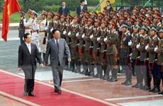 Hình ảnh Thủ tướng Triều Tiên Kim Yong-il thăm Việt Nam năm 2007