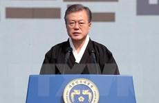 Hàn Quốc kêu gọi lập cộng đồng hòa bình trên bán đảo Triều Tiên