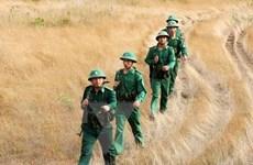 Những hình ảnh đẹp về người chiến sỹ mang quân hàm xanh nơi biên cương