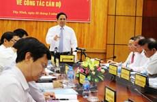 Trưởng Ban Tổ chức Trung ương làm việc tại tỉnh Tây Ninh