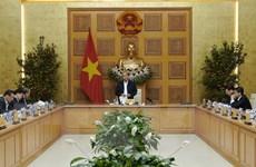 Thủ tướng Nguyễn Xuân Phúc làm việc với các chuyên gia, nhà khoa học