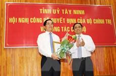 Ông Phạm Viết Thanh được điều động làm Bí thư Tỉnh ủy Tây Ninh